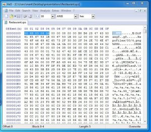 Figure 5 - gss file magic numbers reveal it is a ZIP archive.