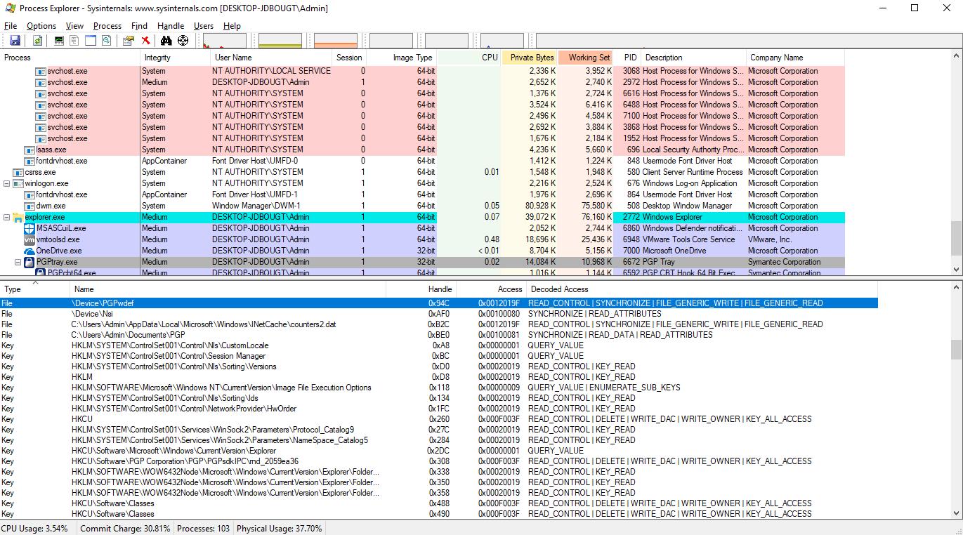 CVE-2019-9702: Symantec Encryption Desktop Local Privilege
