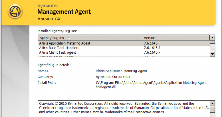 CVE-2018-5240: Symantec Management Agent (Altiris) Privilege