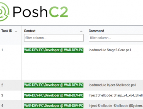 PoshC2 Improved HTML Reports