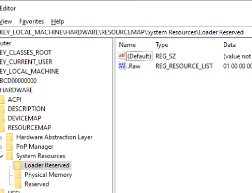 VM Detection Tricks, Part 1: Physical memory resource maps
