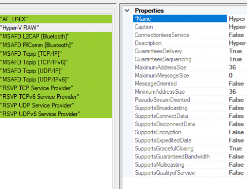 VM Detection Tricks, Part 3: Hyper-V RAW Network Protocol